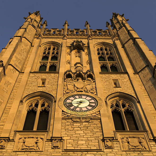Memorial Union clock tower