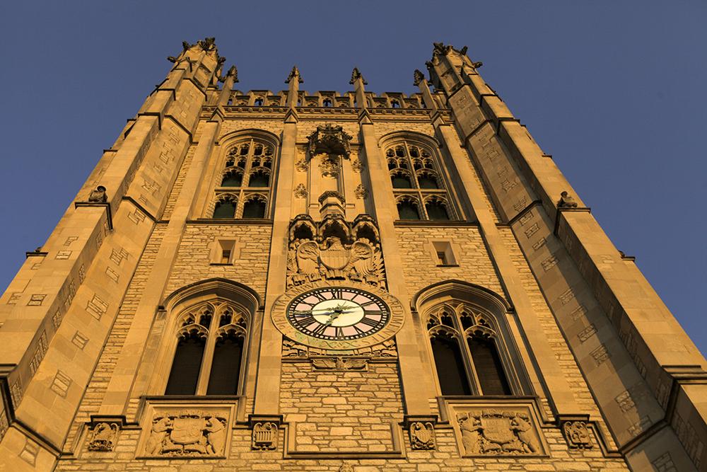 Memorial Union clock tower