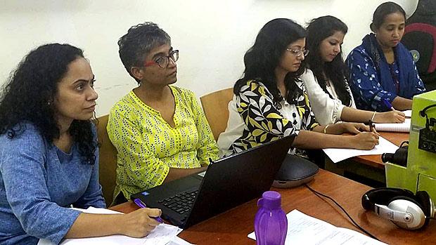 Medical providers in Mumbai, India attend Echo Autism program