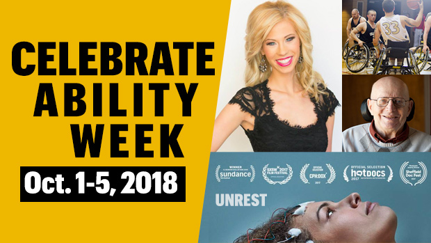 Flyer for Celebrate Ability Week