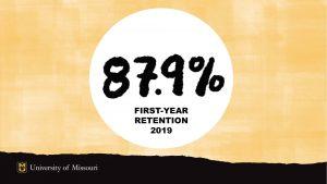 87.9% First-Year Retention